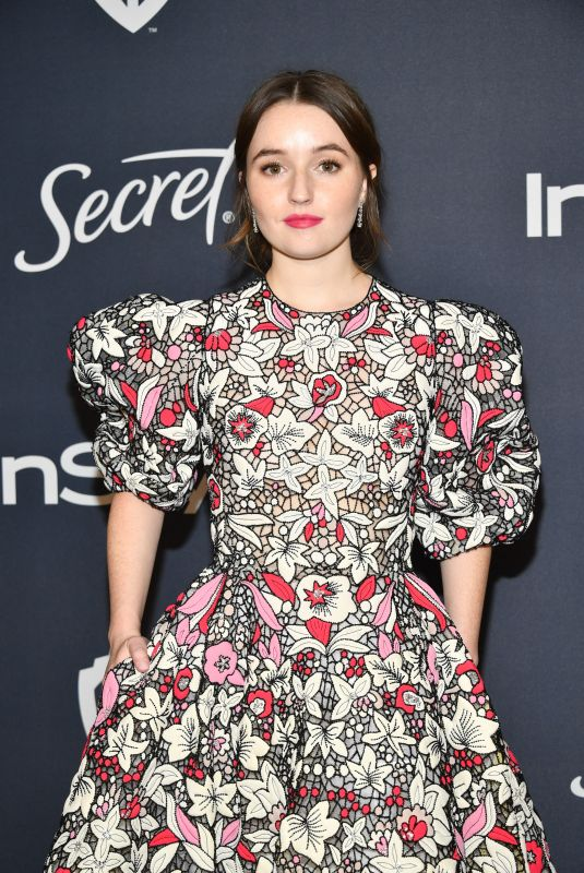KAITLYN DEVER at Instyle and Warner Bros. Golden Globe Awards Party 01/05/2020