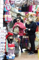 KALEY CUOCO Out Shoping in Rome 01/12/2020
