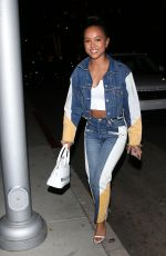 KARRUECHE TRAN Arrives at Mr. Chow in Beverly Hills 01/28/2020