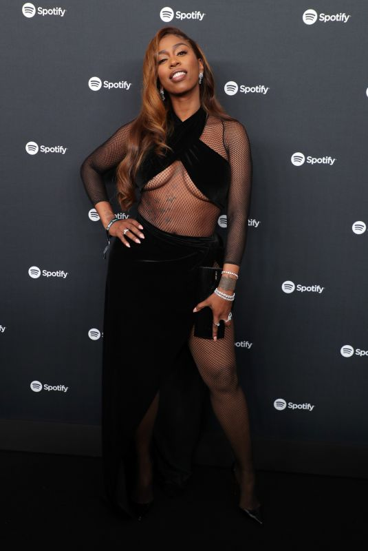 KASH DOLL at Spotify Hosts Best New Artist Party in Los Angeles 01/23/2020