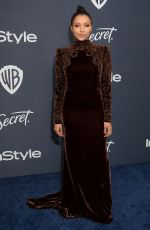 KAT GRAHAM at Instyle and Warner Bros. Golden Globe Awards Party 01/05/2020