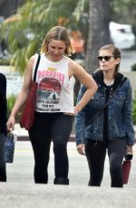 KATE MARA and KRISTEN BELL Heading to a Gym in Los Felize 01/26/2020