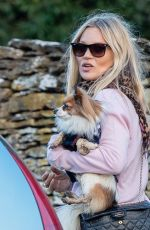 KATE MOSS Out in Costwolds 12/23/2019