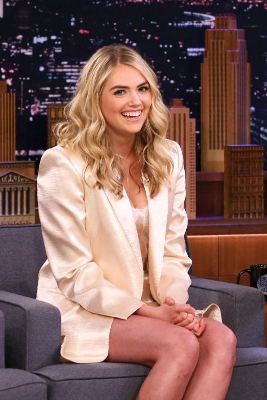 KATE UPTON at Tonight Show Starring Jimmy Fallon in New York 01/20/2020