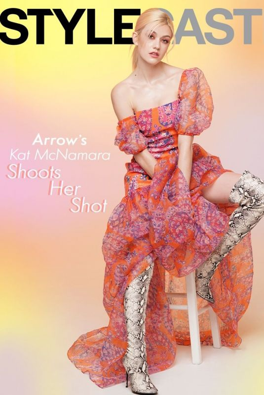 KATHERINE MCNAMARA for Stylecaster Magazine, January 2020
