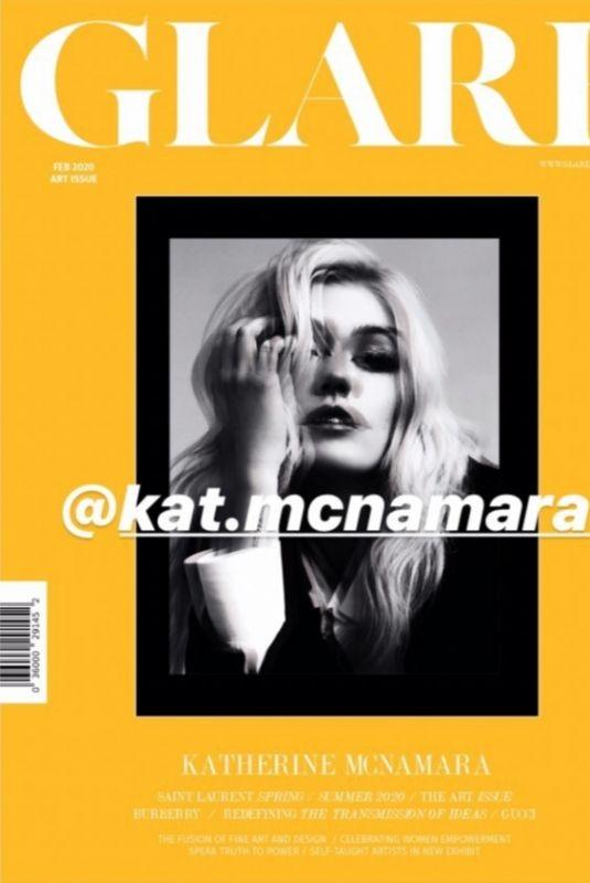 KATHERINE MCNAMARA in Glare Magazine, February 2020
