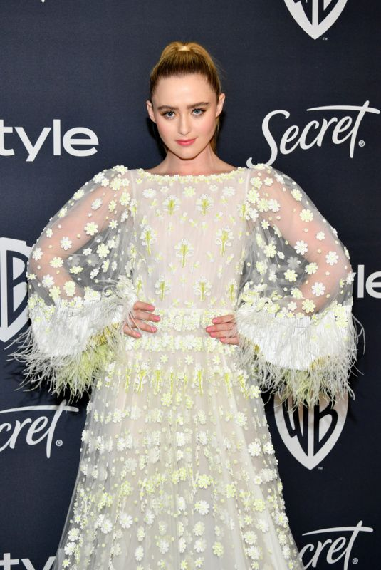 KATHRYN NEWTON at Instyle and Warner Bros. Golden Globe Awards Party 01/05/2020