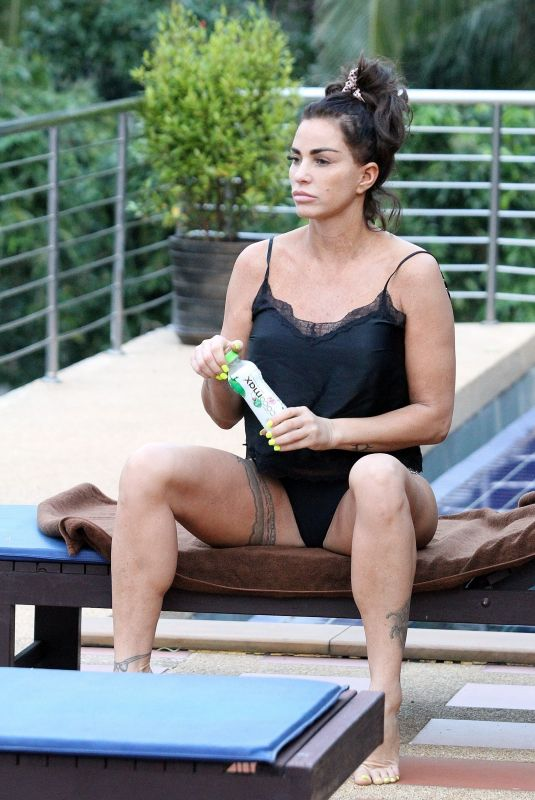 KATIE PRICE on Holiday in Thailand 01/03/2020