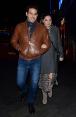 KELLY BROOK and Jeremy Parisi Leaves Global Radio in London 01/21/2020