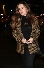 KELLY BROOK Leaves Heart Radio in London 01/07/2020