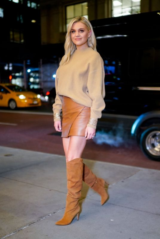 KELSEA BALLERINI Out and About in New York 01/09/2020