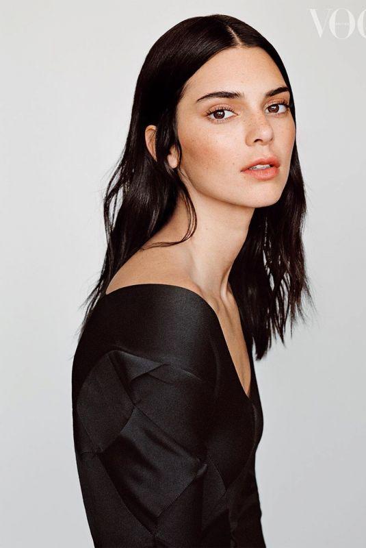 KENDALL JENNER for Vogue, UK February 2020