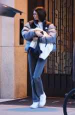 KENDALL JENNER Out and About in New York 01/20/2020