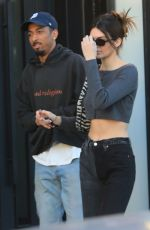 KENDALL JENNER Out and About in West Hollywood 01/23/2020