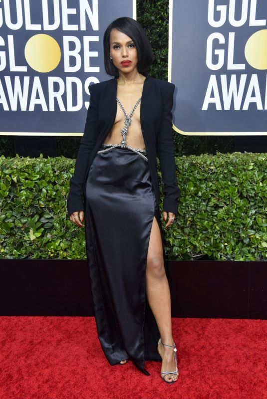 KERRY WASHINGTON at 77th Annual Golden Globe Awards in Beverly Hills 01/05/2020
