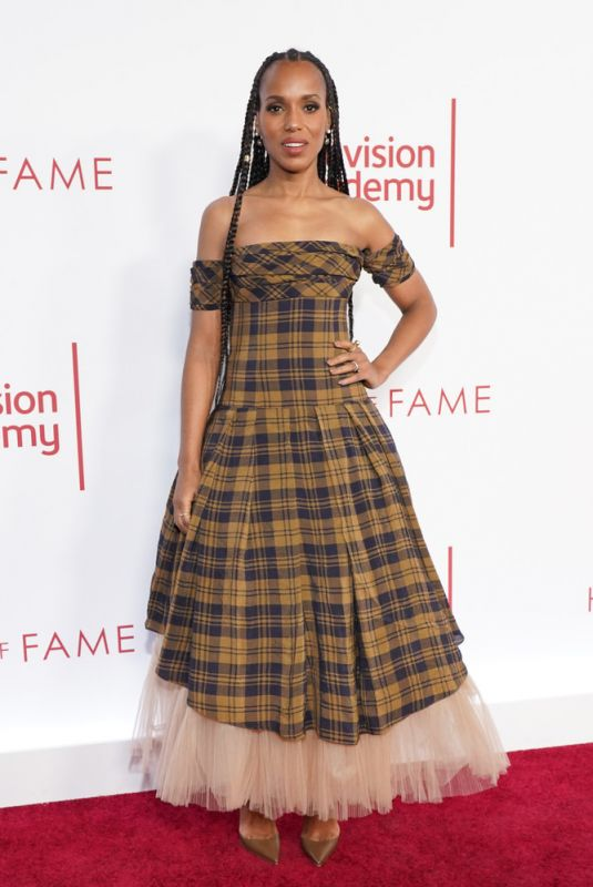 KERRY WASHINGTON at Television Academy's 25th Hall of Fame Induction Ceremony 01/29/2020