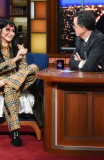 KESHA at Late Show with Stephen Colbert 01/10/2020