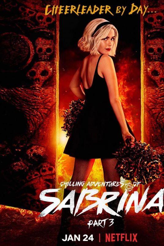 KIERNAN SHIPKA - Chilling Adventures of Sabrina, Part 3 Promos