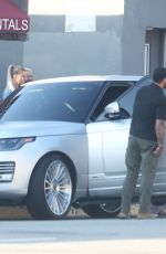 KIM and KHLOE KARDASHIAN Filming KUWTK in Los Angeles 01/22/2020