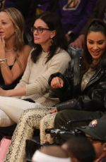 KIM KARDASHIAN and Kanye West at Cleveland Cavaliers vs LA Lakers Game in Los Angeles 01/13/2020