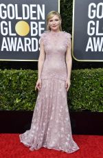 KIRSTEN DUNST at 77th Annual Golden Globe Awards in Beverly Hills 01/05/2020