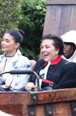 KOURTNEY KARDASHIAN and KYLIE and KIRSS JENNER at Disneyland in Orlando 01/22/2020
