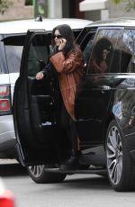 KOURTNEY KARDASHIAN Arrives at Kris Jenner