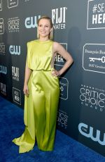 KRISTEN BELL at 25th Annual Critics Choice Awards in Santa Monica 01/12/2020