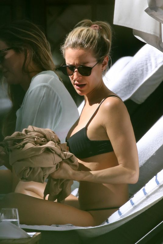 KRISTIN CAVALLARI in Bikini at a Pool in Miami 01/30/2020