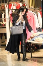 KYLE RICHARDS Out Shopping in Beverly Hills 01/16/2020