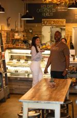 KYLIE JENNER and Corey Gamble at Blue Table in Calabasas 01/10/2020