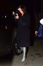 KYLIE JENNER at a Dinner in Santa Monica 01/01/2020
