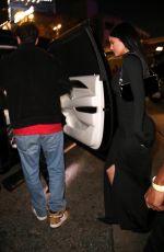 KYLIE JENNR Leaves Staples Center in Los Angeles 01/11/2020