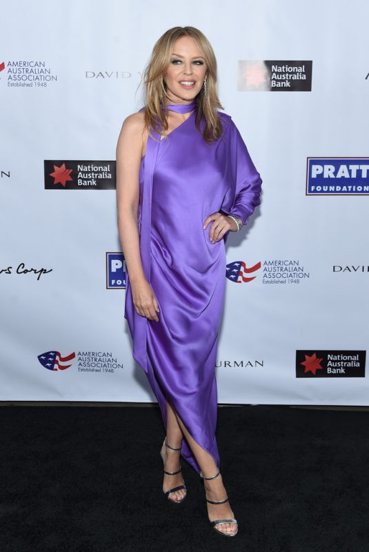 KYLIE MINOGUE at American Australian Arts Awards in New York 01/30/2020