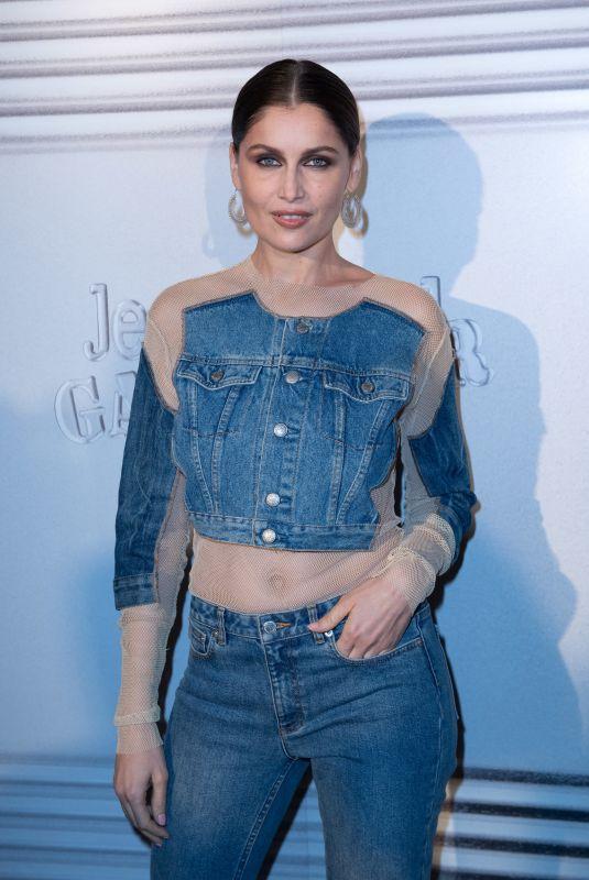 LAETITIA CASTA at Jean-Paul Gaultier Show at Paris Fashion Week 01/22/2020