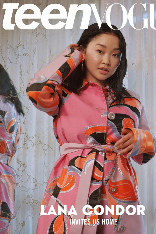 LANA CONDOR in Teen Vogue Magazine, January 2020