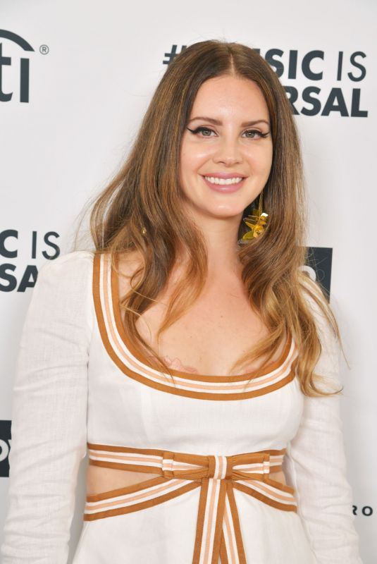 LANA DEL REY at 2020 Roc Nation the Brunch in Los Angeles 01/25/2020