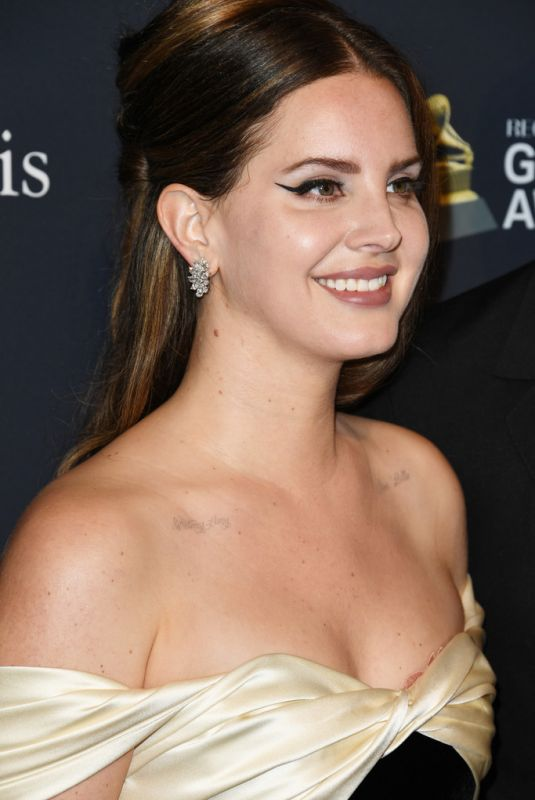 LANA DEL REY at Recording Academy and Clive Davis Pre-Grammy Gala in Beverly Hills 01/25/2020