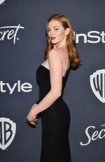 LARSEN THOMPSON at Instyle and Warner Bros. Golden Globe Awards Party 01/05/2020