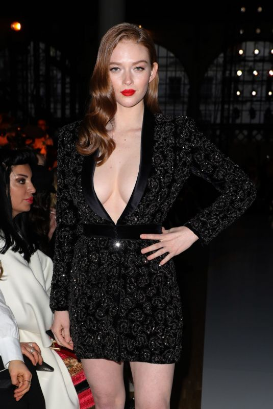 LARSEN THOMPSON at Ralph and Russo Fashion Show at PFW in Paris 01/20/2020
