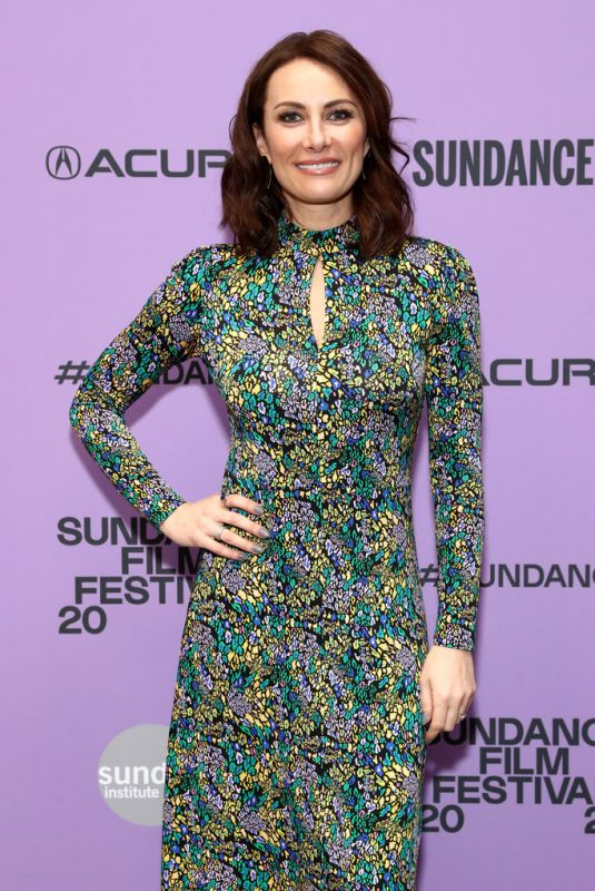 LAURA BENANTI at Worth Premiere at 2020 Sundance Film Festival 01/24/2020
