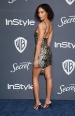 LAURA HARRIER at Instyle and Warner Bros. Golden Globe Awards Party 01/05/2020