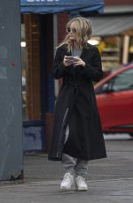 LAURA WHITMORE Out and About in London 01/14/2020
