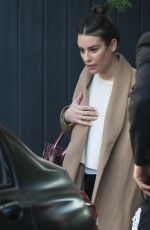 LEA MICHELE Out and About in Los Angeles 01/12/2020