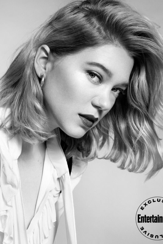 LEA SEYDOUX for Entertainment Weekly, January 2020