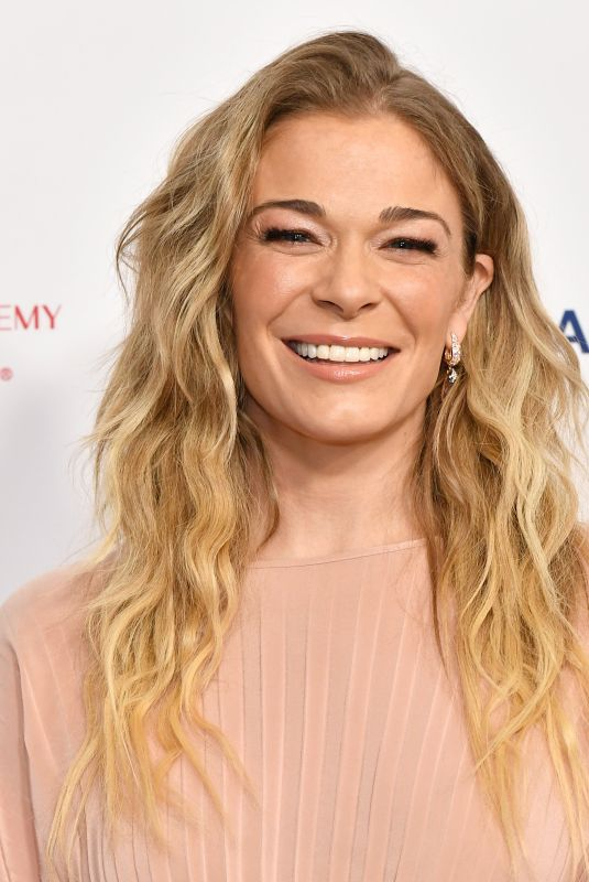 LEANN RIMES at 2020 Musicares Person of the Year Honoring Aerosmith in Los Angeles 01/24/2020