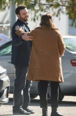 LEIGHTON MEESTER on the Set Single Parents in Los Angeles 01/28/2020