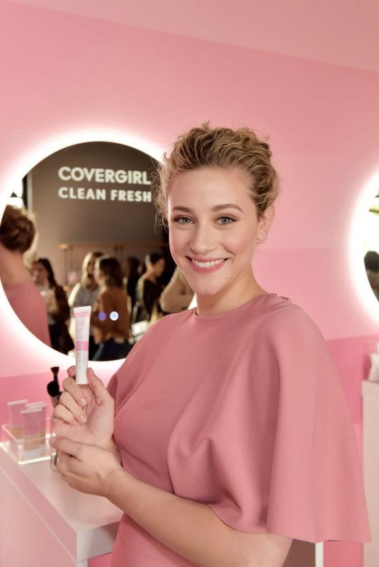 LILI REINHART at CoverGirl Clean Fresh Launch Party in Los Angeles 01/16/2020