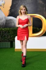 LILIA BUCKINGHAM at Dolittle Premiere in Westwood 01/11/2020