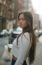 LILY CHEE at a Photoshoot in New York, January 2020